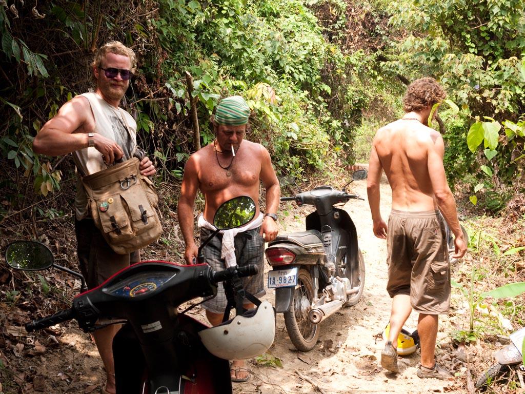 Sackgasse im Dschungel